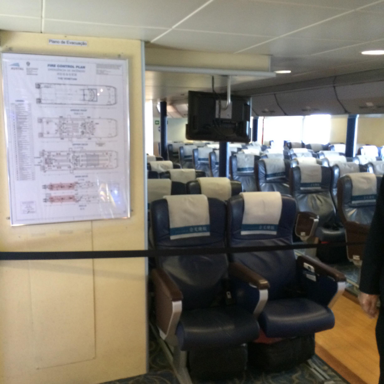 マカオフェリーターミナル-マカオから香港空港-21