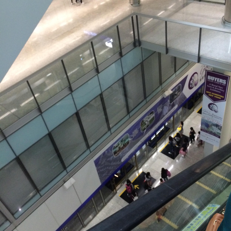 マカオフェリーターミナル-マカオから香港空港-香港ポートピア