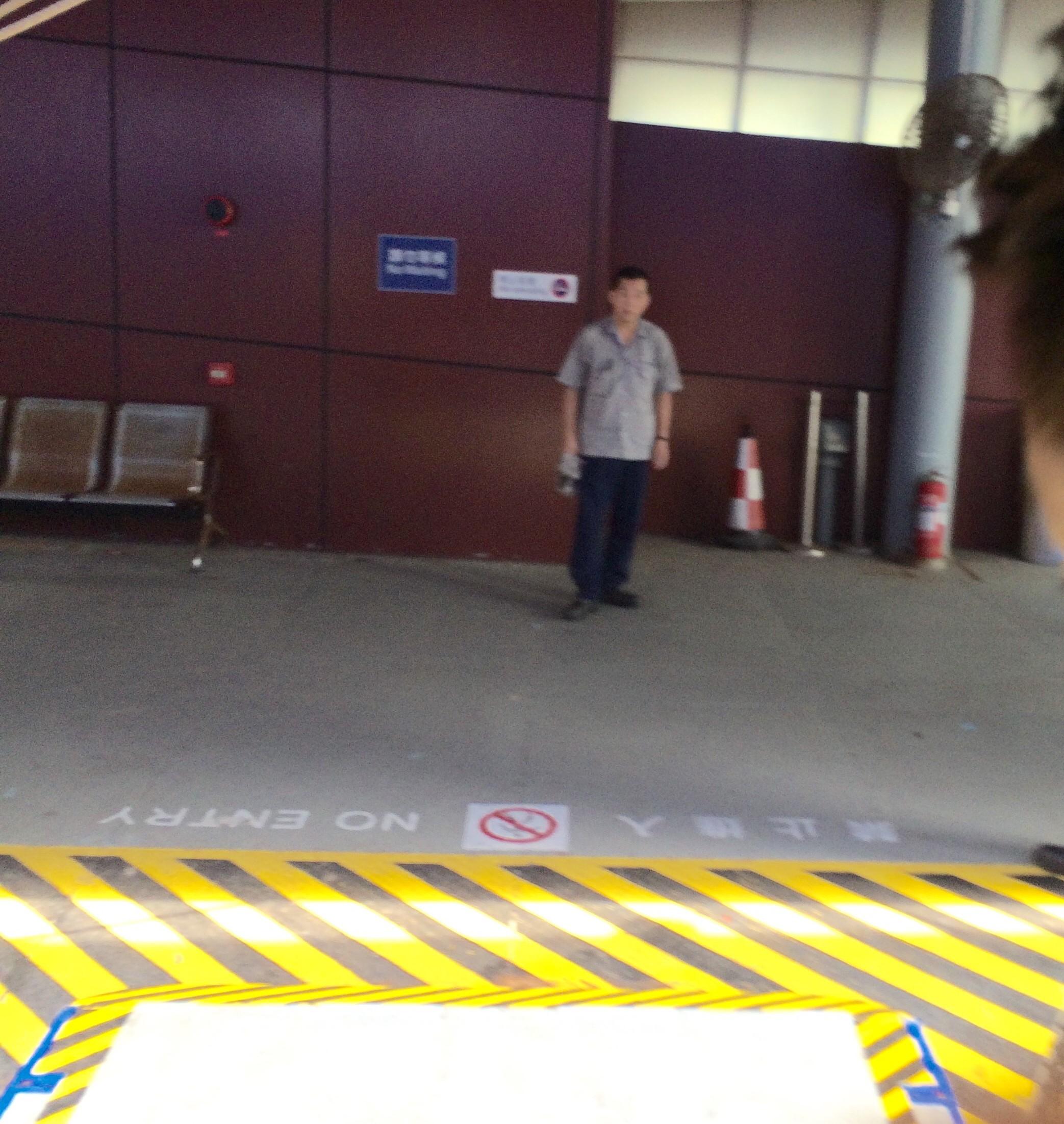 マカオフェリーターミナル-マカオから香港空港-4
