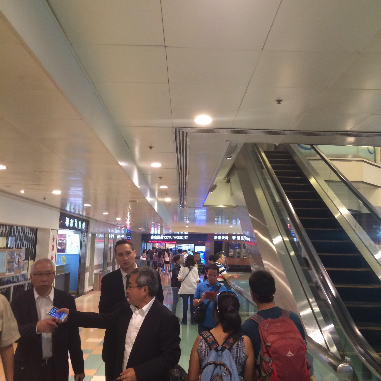香港-中環フェリーターミナル