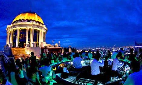 バンコクの夜景のきれいなバー2
