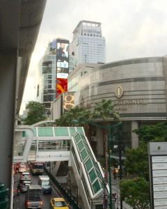 バンコクのインターコンチネンタルホテルの外観