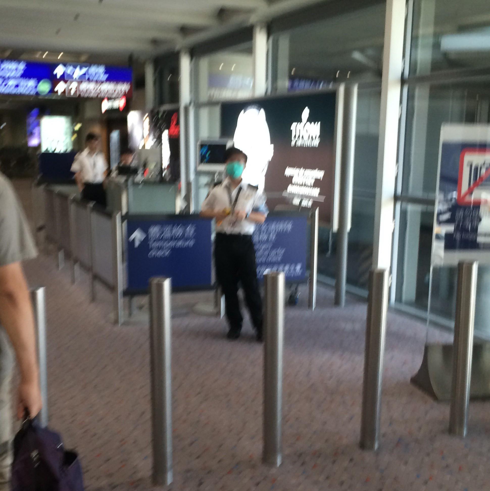 香港国際空港の入国11