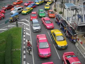 バンコクのタクシー7