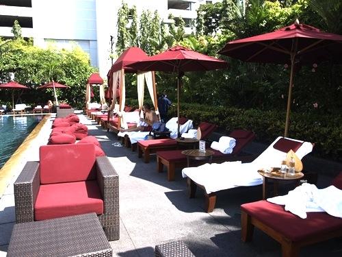 バンコク-プールが良い-ホテル-スコータイホテル3