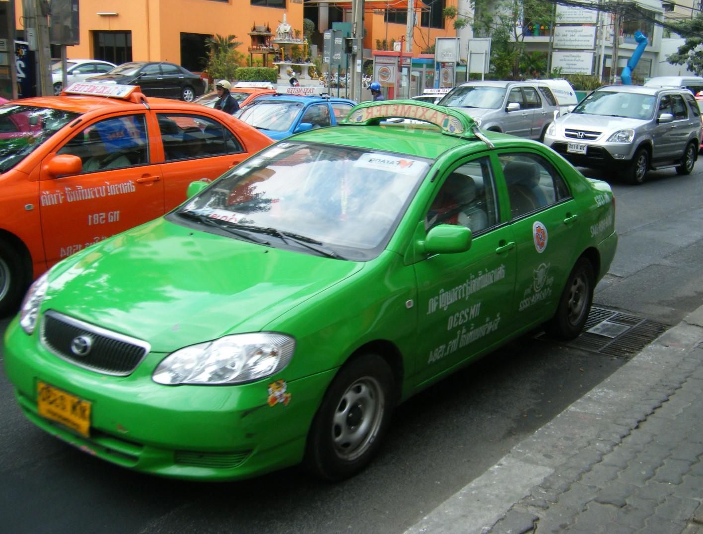タイ-バンコクのタクシー-乗り方-2