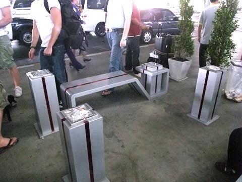 スワンナプーム空港の喫煙所-2