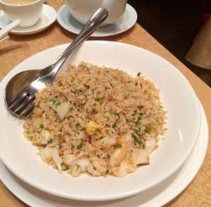 バンコクのレストラン-シェフマン-炒飯