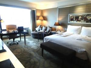 バンコクのインターコンチネンタルホテルの部屋2