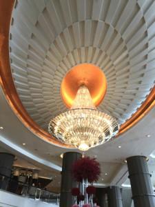 バンコクのインターコンチネンタルホテルのロビー2