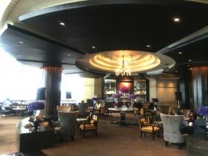バンコクのインターコンチネンタルホテルのカフェ