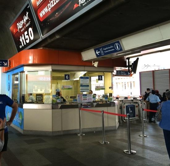バンコク-BTS-パヤータイ駅