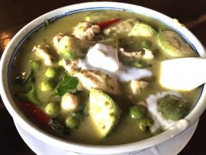 バンコクのタイ料理レストラン-バーン・クン・メー-Baan-Khun-Mae-グリーンカレー