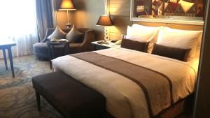 バンコクのインターコンチネンタルホテルの部屋3