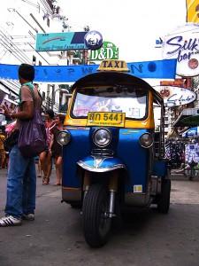 バンコクのタクシー-トゥクトゥク