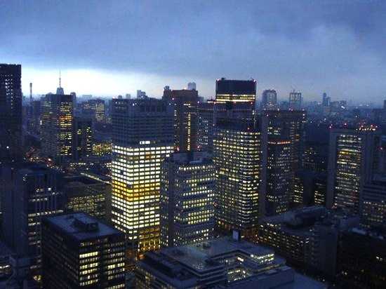 mandarin-oriental-tokyo-夜景