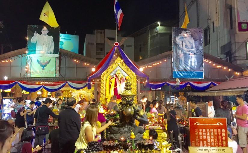バンコクのパワースポット ホイクアンのガネーシャ@ラチャダーピセーク