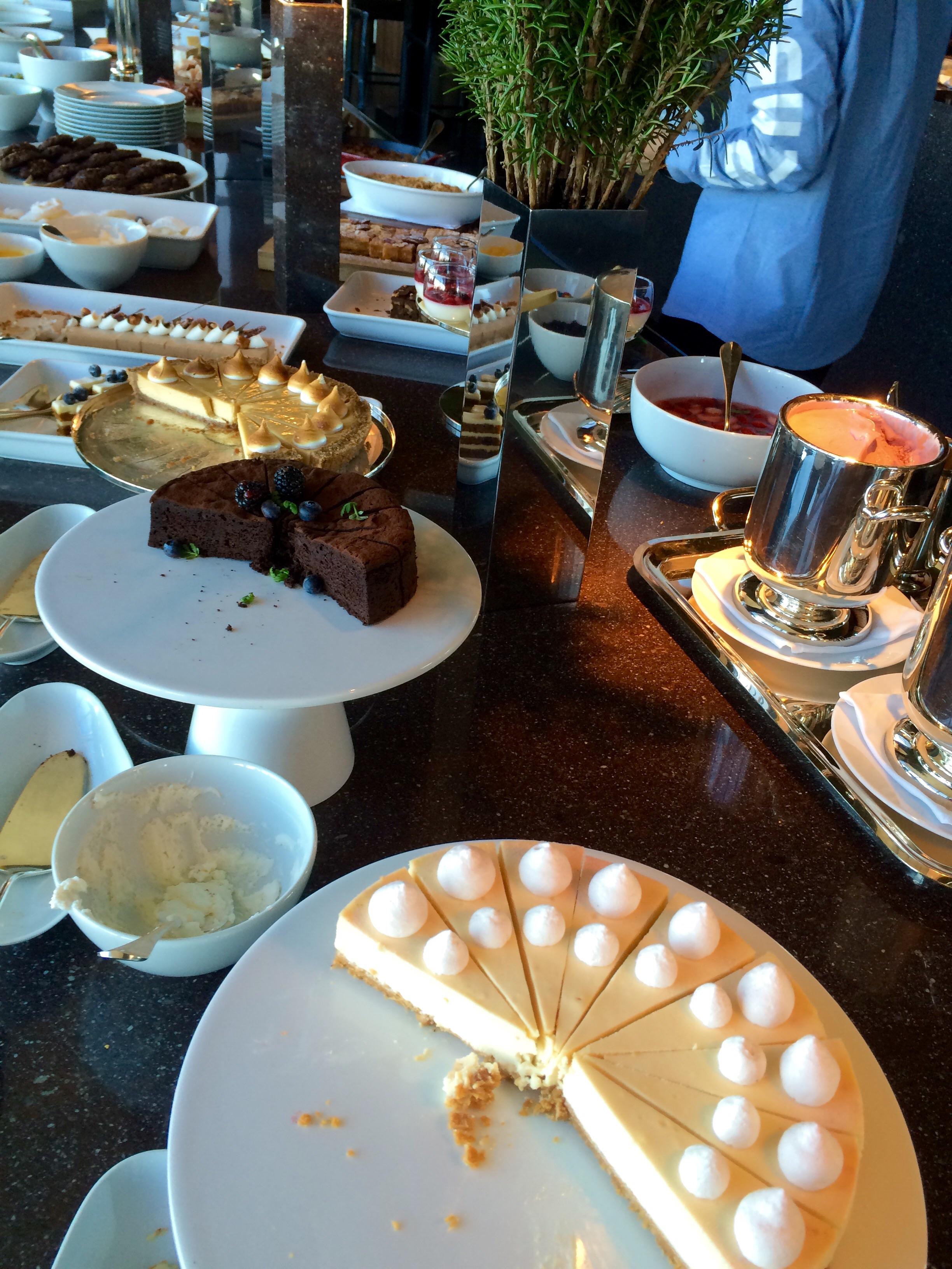パークハイアット東京-新宿のレストラン-ニューヨークグリル-デザート