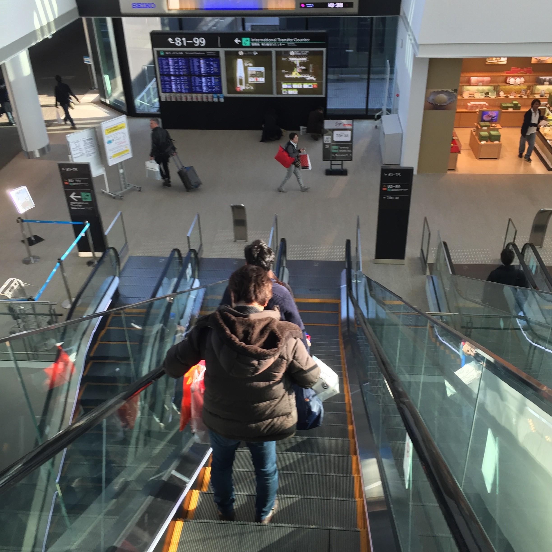 成田空港-免税店-ラウンジ和
