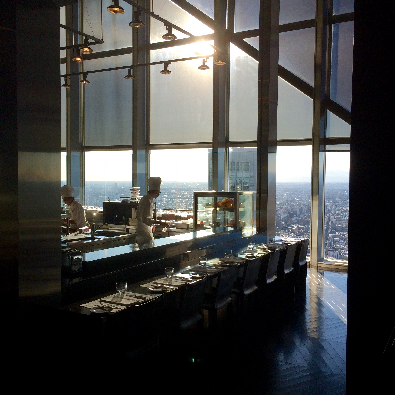パークハイアット東京のレストラン-ニューヨークグリル-4