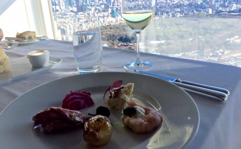 パークハイアット東京のレストラン ニューヨークグリル NEW YORK GRILLへの道