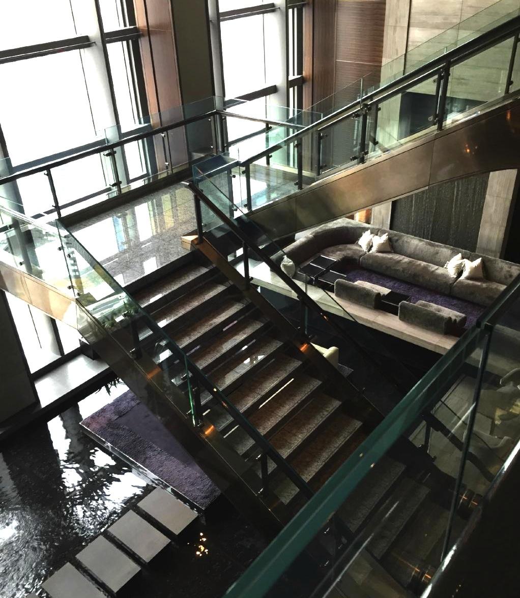 東京の最高級ホテル-マンダリンオリエンタル東京のラウンジ