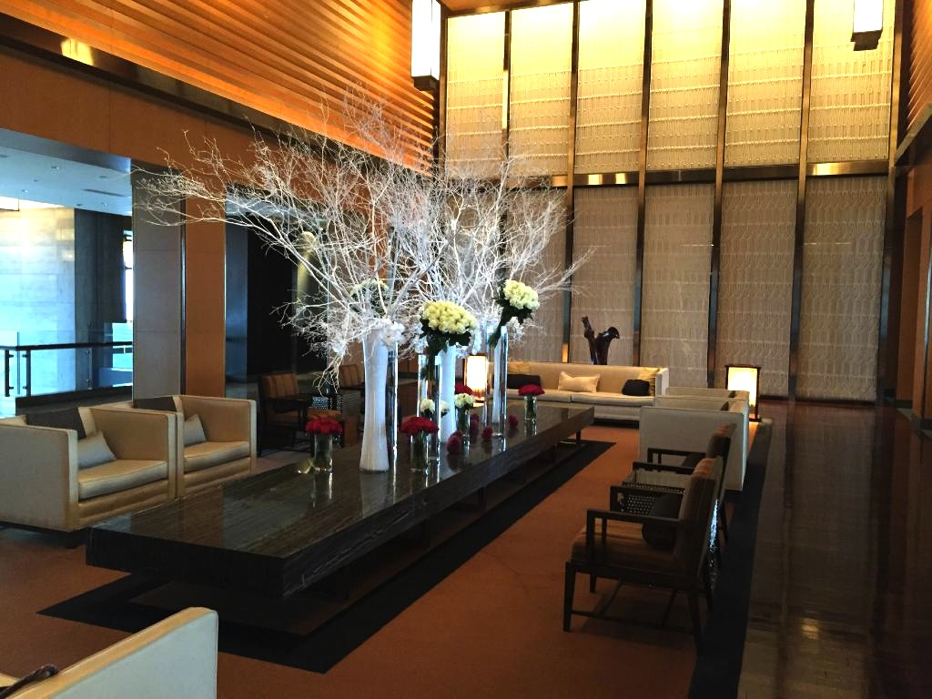 東京の最高級ホテル-マンダリンオリエンタル東京のロビーラウンジ-3