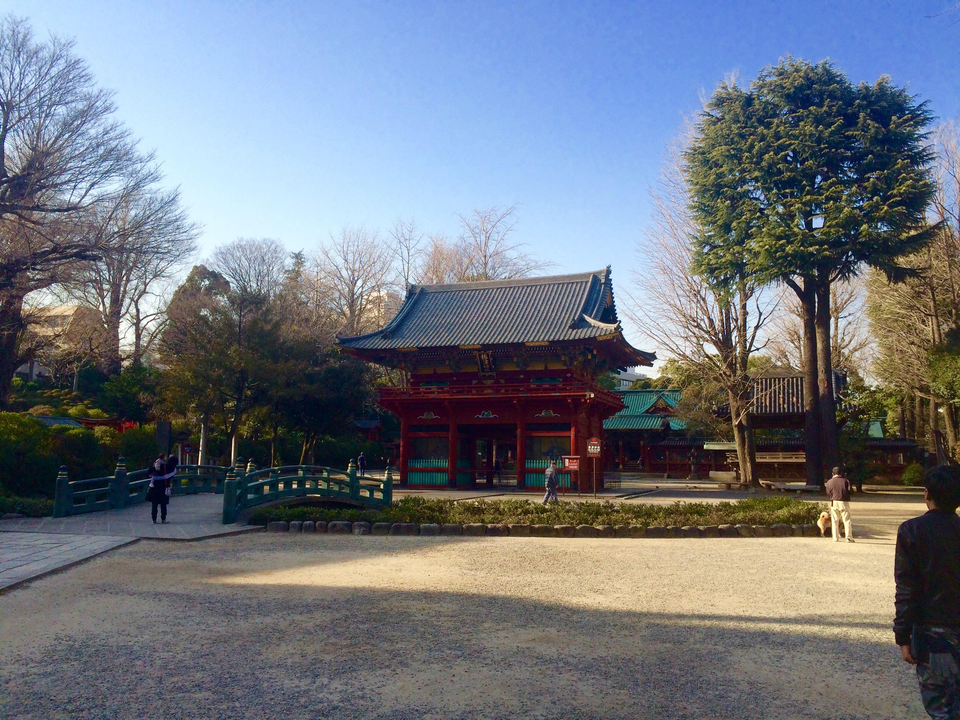 東京の観光スポット-根津神社-13