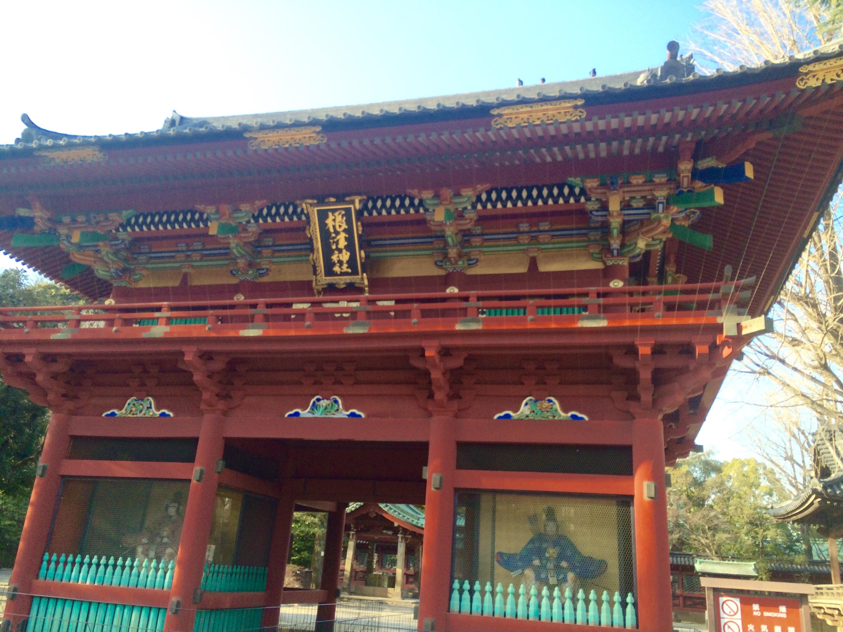 東京の観光スポット-根津神社-14