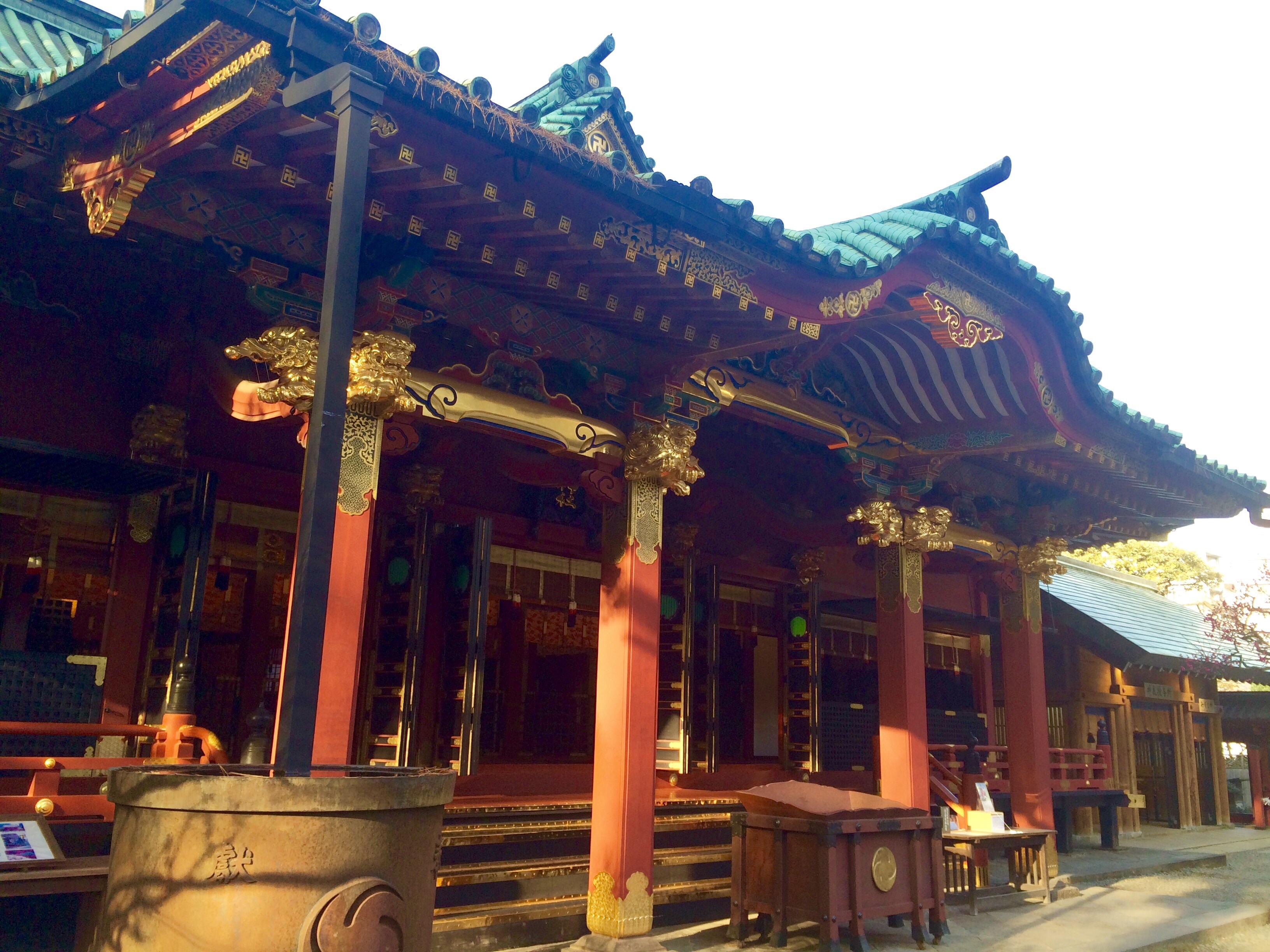 東京の観光地-根津神社-9