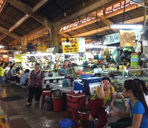 ベトナムの観光名所-ベンタイン市場-3