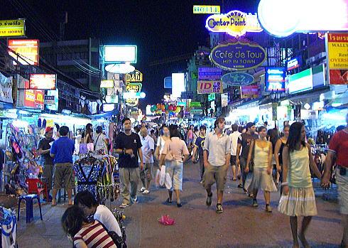 カオサン通り-バンコクの観光スポット-2