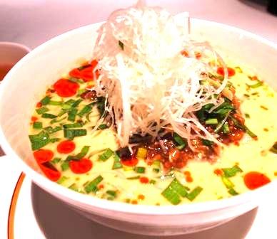 恵比寿の中華レストラン-担々麺-2