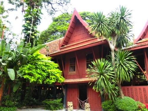 ジムトンプソンの家-バンコクの観光スポット-1