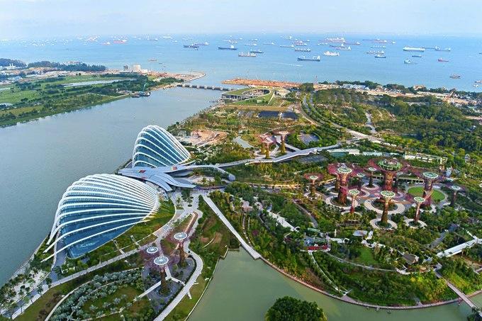 シンガポールの植物園-ガーデンズ・バイ・ザ・ベイ-10