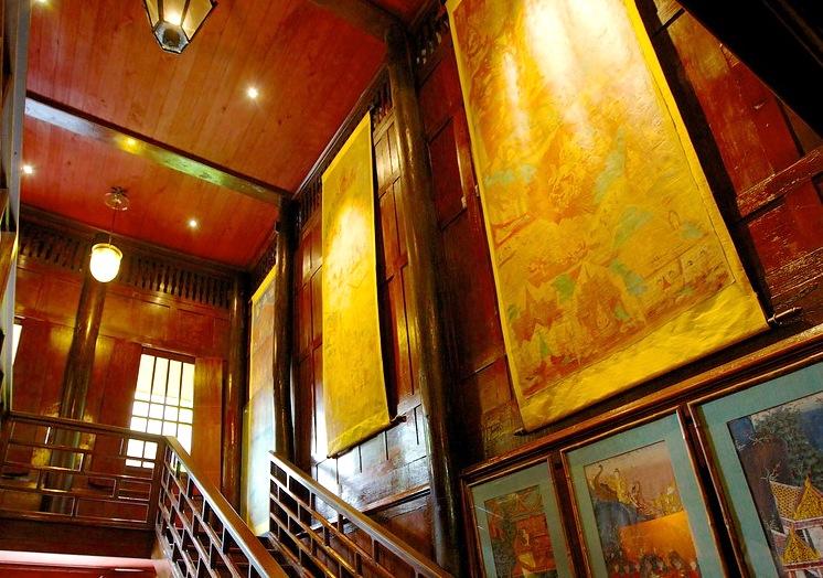 ジムトンプソンの家-バンコクの観光スポット
