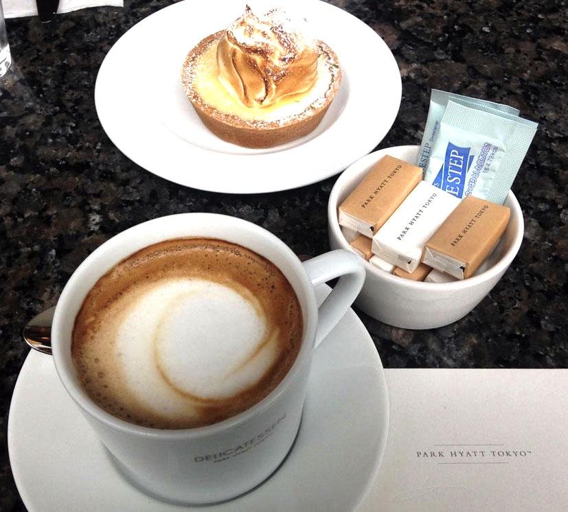パークハイアットのデリカテッセン-カフェ