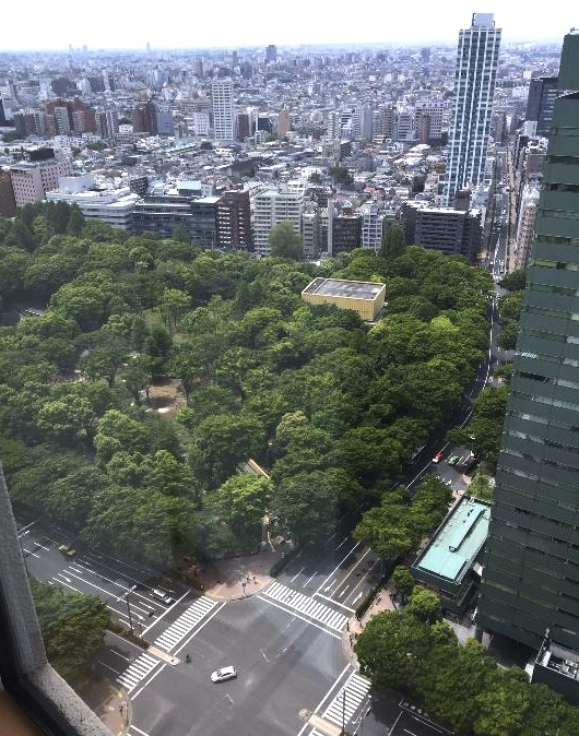 ヒルトン東京-新宿のホテル-公園