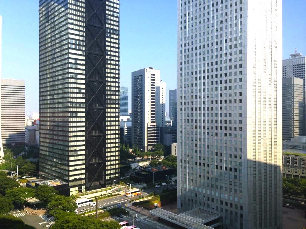 ヒルトン東京-新宿のホテル-景色