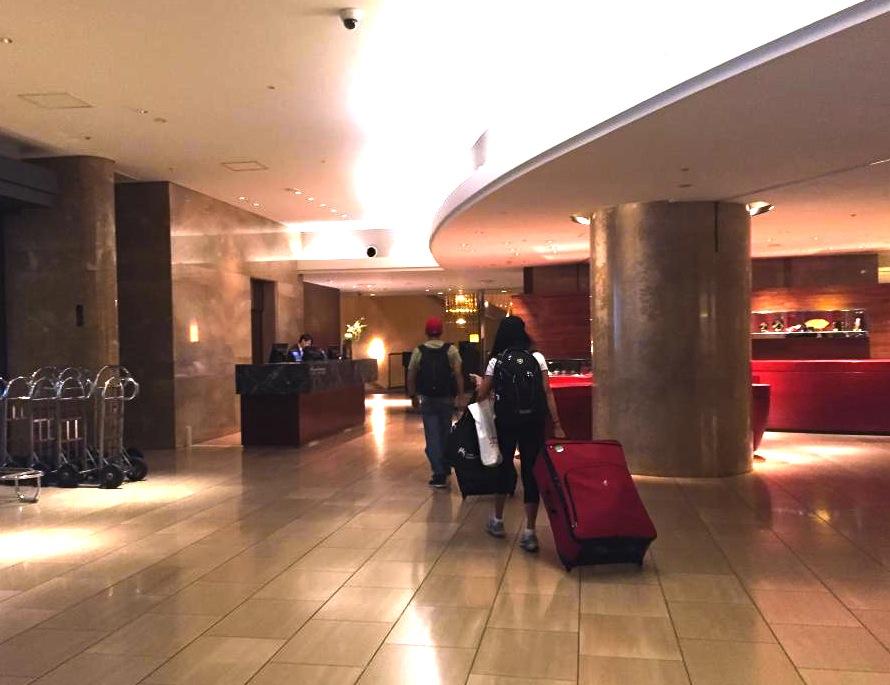ヒルトン東京-新宿のホテル-ロビー2