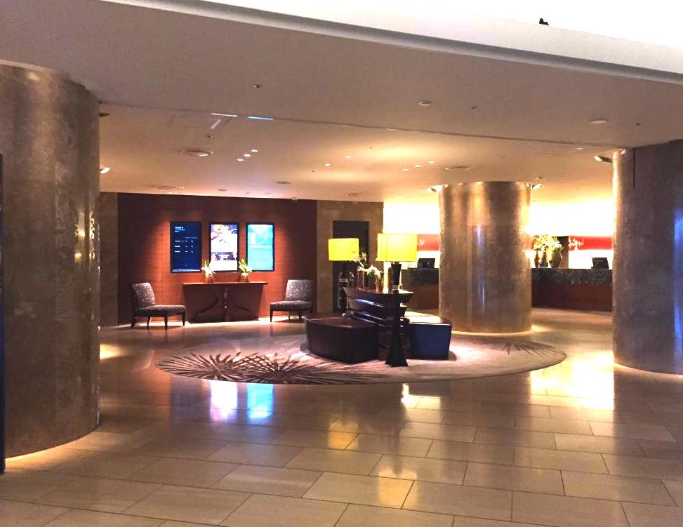 ヒルトン東京-新宿のホテル-ロビー
