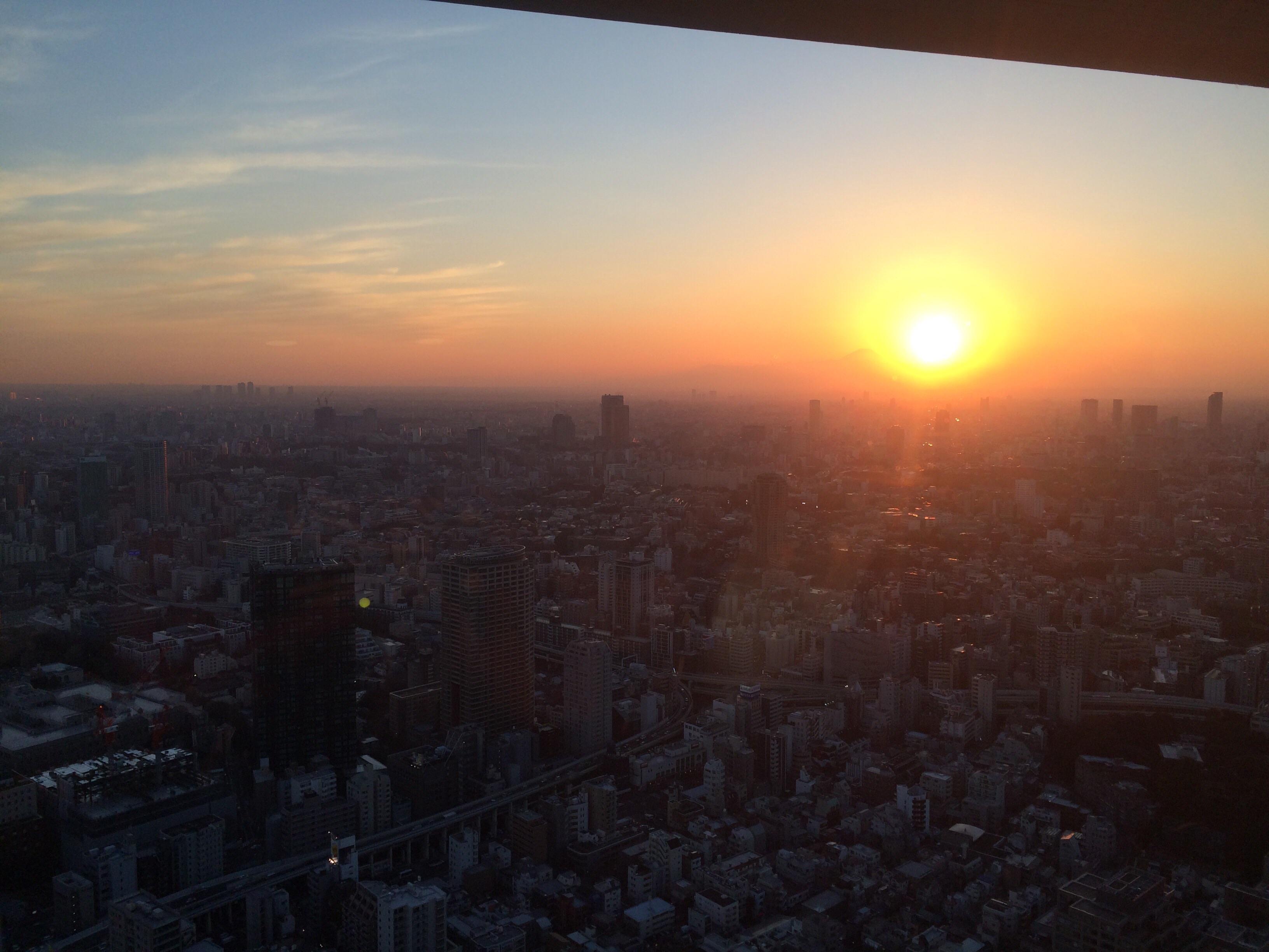 東京タワーのサンセット