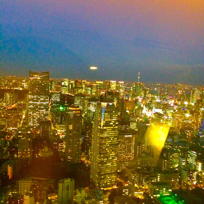 東京の観光-東京タワー-景色