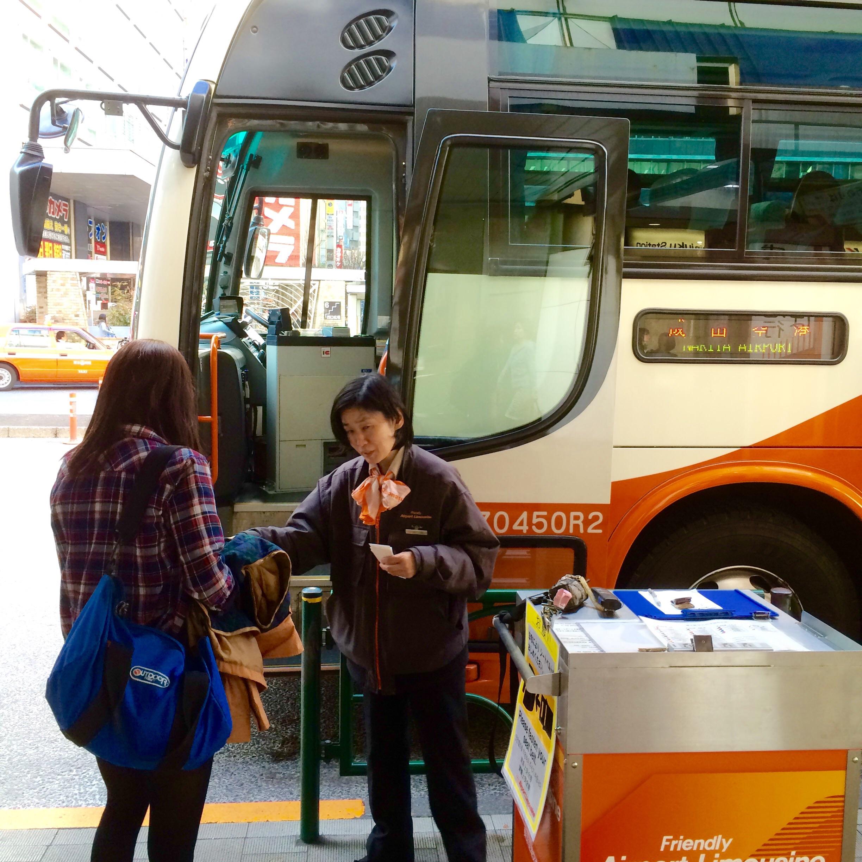 リムジンバス-新宿から成田空港-9