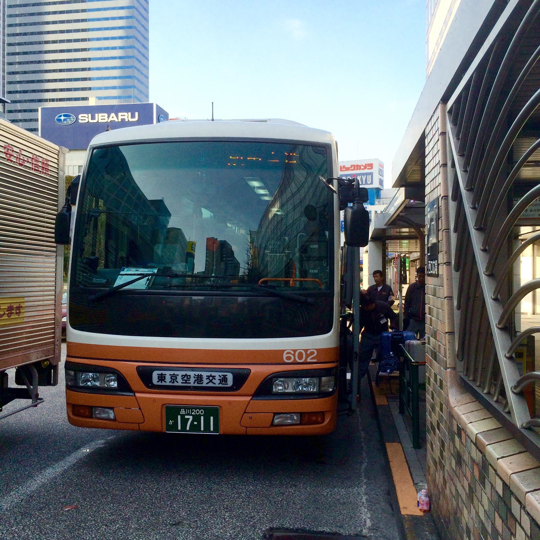 リムジンバス-新宿から成田空港-5