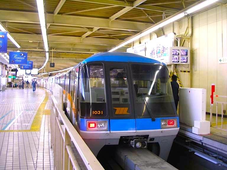 モノレールで羽田空港の移動-東京モノレール-2