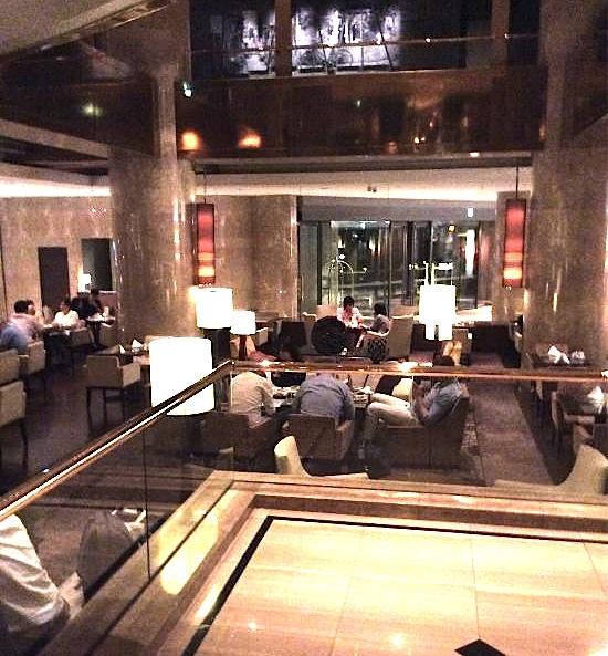 ヒルトン東京-新宿のホテル-マーブルラウンジ