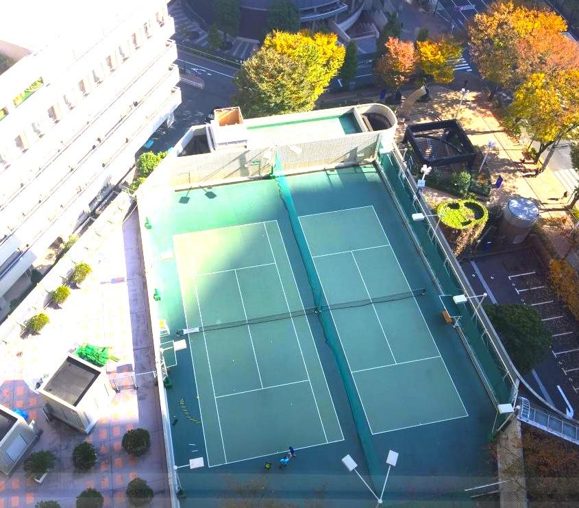 ヒルトン東京-新宿のホテル-テニスコート