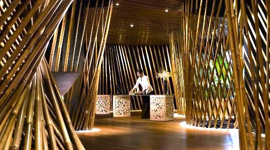 バリの人気高級スパ-ジンバラン-bamboo-spa-4