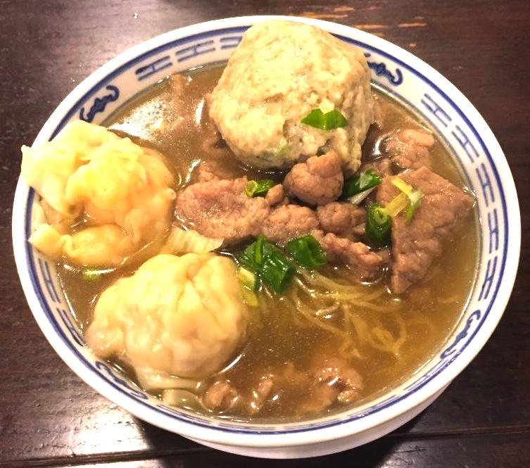 香港の美味しいワンタン麺-沾仔記の雲呑麺-13
